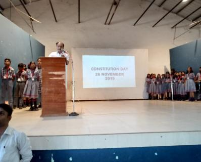 CONSTITUTION DAY CELEBRATION MORNING ASSEMBLY